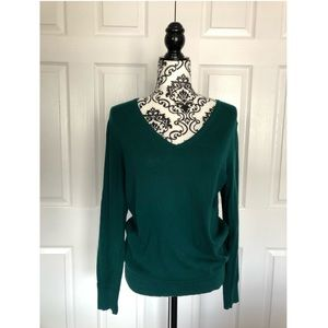 V-neck Ann Taylor LOFT sweater size medium